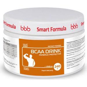Аминоксилоты с разветвленной цепью BBB BCAA Drink (апельсин) 0,24 кг. аминокислотный комплекс vplab bcaa 2 1 1 красный апельсин 500 г