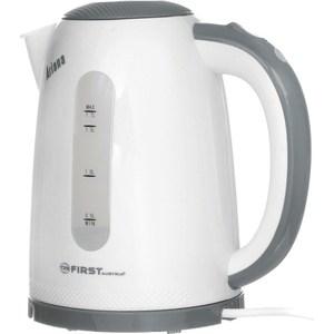 Чайник электрический FIRST FA-5427-2 Grey чайник first fa 5427 3 white grey