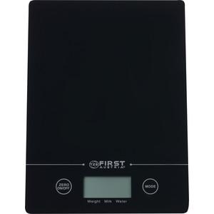 Кухонные весы FIRST FA-6400 Black first fa 6400 black весы кухонные