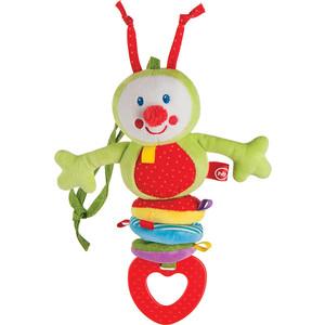 Happy Baby Подвесная игрушка-растяжка Гусеница (330344) манеж happy baby happy baby манеж alex violet