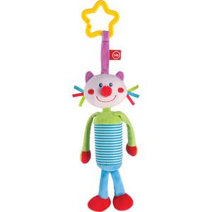 Фотография товара happy Baby Подвесная игрушка-колокольчик Кот (330350) (791848)