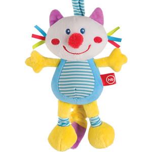 Фотография товара happy Baby Подвесная игрушка-растяжка с вибрацией Кот (330360) (791858)