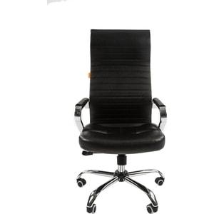 Офисное кресло Chairman 700 экопремиум черный компьютерное кресло chairman 700 black 00 07014825