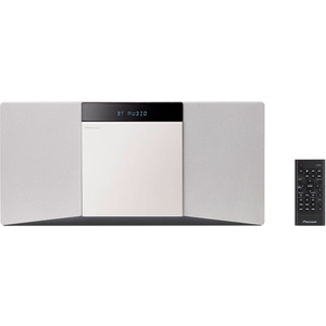 Музыкальныq центр Pioneer X-SMC02-W музыкальный центр pioneer x hm86d s серебристый