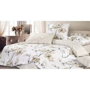 Комплект постельного белья Ecotex Евро, сатин, Рузена (КГЕРузена) комплект постельного белья ecotex евро сатин цветочный ноктюрн кгецветочный ноктюрн