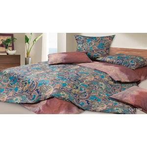 Комплект постельного белья Ecotex Евро, сатин, Султан (КГЕСултан) комплект постельного белья ecotex 2 х сп сатин персей кгмперсей