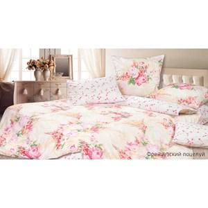Комплект постельного белья Ecotex Евро, сатин, Французский поцелуй (КГЕФранцузский поцелуй) комплект постельного белья ecotex 2 х сп сатин коломбо кгмколомбо
