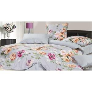Комплект постельного белья Ecotex Евро, сатин, Энигма (КГЕЭнигма) комплект постельного белья ecotex 2 х сп сатин эдельвейс кгмэдельвейс