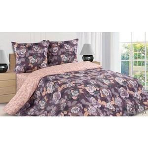 Комплект постельного белья Ecotex 1, 5 сп, поплин, Мисс Роуз (КП1Мисс Роуз)