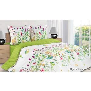 Комплект постельного белья Ecotex 2-х сп с резинкой, поплин, Луговые цветы (КПРЛуговые цветы) комплект постельного белья ecotex 2 х сп сатин корнелия кгмкорнелия