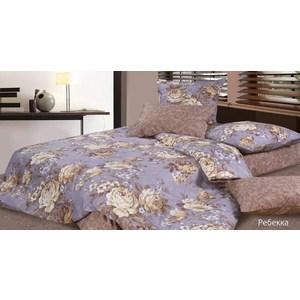 Комплект постельного белья Ecotex Евро с резинкой, поплин, Булонь (КПРЕБулонь)