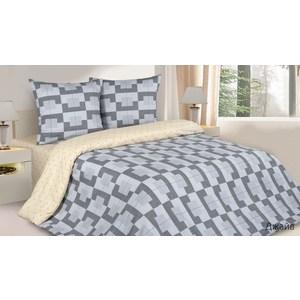 Комплект постельного белья Ecotex Евро с резинкой, поплин, Джайв (КПРЕДжайв)