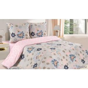 Комплект постельного белья Ecotex Евро с резинкой, поплин, Мейли (КПРЕМейли)