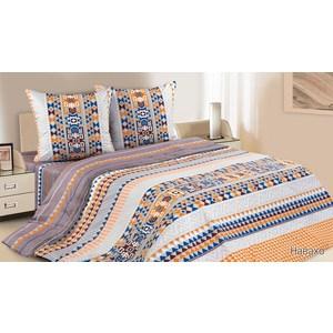 Комплект постельного белья Ecotex Евро с резинкой, поплин, Навахо (КПРЕНавахо)