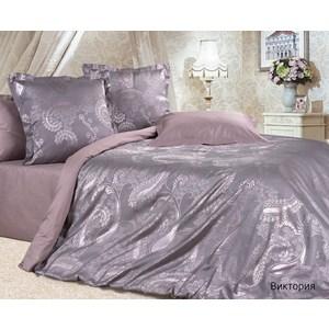Комплект постельного белья Ecotex Семейный, сатин-жаккард, Виктория(КЭДВиктория)