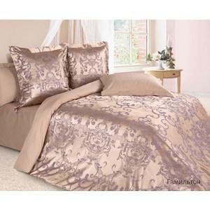 купить Комплект постельного белья Ecotex Евро, сатин-жаккард, Гамильтон(КЭЕГамильтон) недорого