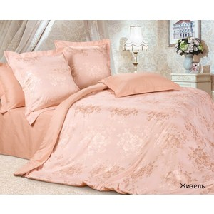 Комплект постельного белья Ecotex Евро, сатин-жаккард, Жизель(КЭЕЖизель ) балет жизель