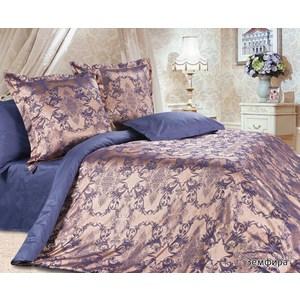 Комплект постельного белья Ecotex Евро, сатин-жаккард, Земфира(КЭЕЗемфира) комплект постельного белья ecotex 2 х сп сатин корнелия кгмкорнелия