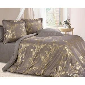 Комплект постельного белья Ecotex Евро, сатин-жаккард, Кассандра(КЭЕКассандра ) все цены