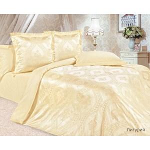 Комплект постельного белья Ecotex Евро, сатин-жаккард, Лигурия(КЭЕЛигурия) комплект постельного белья ecotex 2 х сп сатин коломбо кгмколомбо