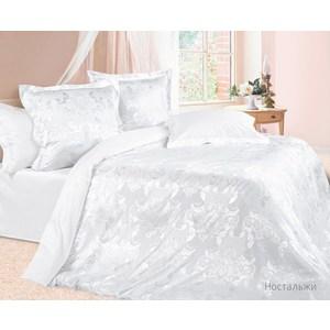 Комплект постельного белья Ecotex Евро, сатин-жаккард, Ностальжи(КЭЕНостальжи) комплект постельного белья ecotex 2 х сп сатин жаккард оливия кэмоливия