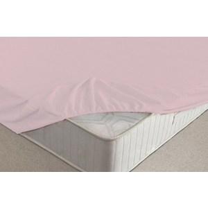 Простыня Ecotex на резинке махровая 200х220х20 розовая (ПРМ20розовый) пмр р 090 розовая простыня махровая на резинке 090х200 20