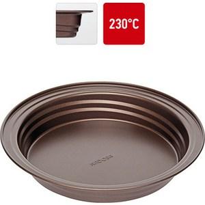 Форма для выпечки круглая 26.5х4.3 см Nadoba Liba (761111) форма для выпечки nadoba liba с антипригарным покрытием 37 х 27 х 5 см