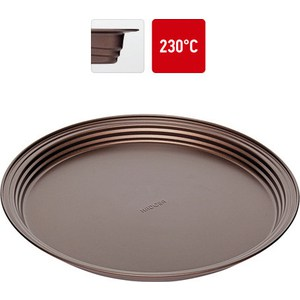 Форма круглая для пирога/пиццы 34х2.8 см Nadoba Liba (761118) форма для выпечки nadoba liba с антипригарным покрытием 37 х 27 х 5 см