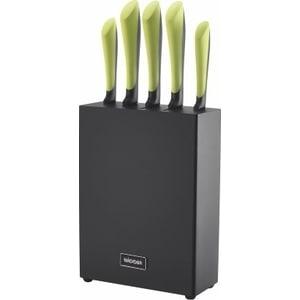 Набор из 5 кухонных ножей с блоком Nadoba Jana (723117) набор кухонных ножей asd wg901606