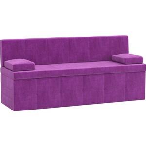 Кухонный диван АртМебель Лео микровельвет фиолетовый кухонный диван артмебель лина микровельвет фиолетовый