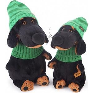 Фотография товара мягкая игрушка Budi Basa Ваксон в зеленой шапке и шарфе (Vaks25-009) (793487)