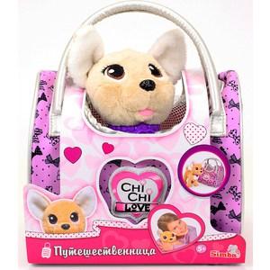 Мягкая игрушка Chi Chi Love Собачка Путешественница с сумкой-переноской (5893124) другой chi chun love of reading