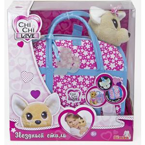 Мягкая игрушка Chi Chi Love Собачка Звёздный стиль с сумочкой (5893115)