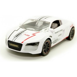 Машина на ру Balbi Спорткар 1:16 белый (RCS-1601 WA) машинка на радиоуправлении balbi rcs 2401 c 1 24 red black