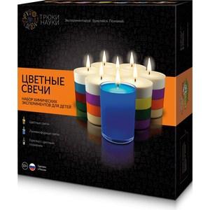 Набор для опытов Трюки Науки Цветные свечи (Z003)