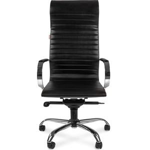 Офисное кресло Chairman 710 экопремиум черный кресло карповое tramp chairman trf 031