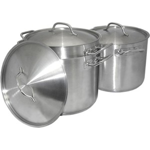 Набор посуды TimA (9 л 11.5 л 13.5 л) PL-01 кастрюля tima 2 0 л тs 18