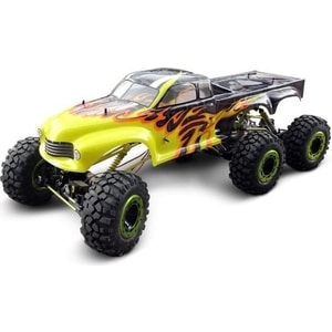 Радиоуправляемый шестиколесный краулер HSP Racing 4WD RTR масштаб 1:5 2.4G rc car hsp 1 10 ep r c 4wd off road rally short course truck rtr similar redcat himoto racing item no 94170 pro 94170top
