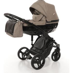 Детская коляска 2 в 1 Junama DIAMOND JD-04 (бежевый/черный короб) все цены
