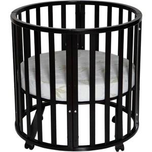 Кровать детская Антел Северянка (3.1) 6 в 1 колесо, круглая 75*75, овал 125*75 шоколад минеральные добавки серии северянка в москве
