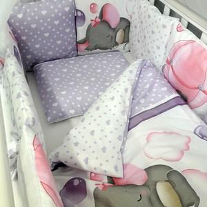 Комплект в кроватку By Twinz с бортиками-подушками 6 пр. Сладкий сон