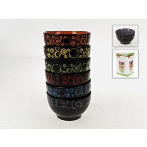 Набор салатников 6 штук ENS Group Цветочный калейдоскоп (540083) подставка под ложку ens group лето в европе