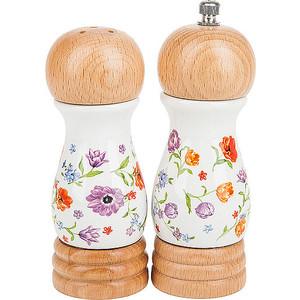 Набор для специй 2 предмета Nouvelle Разноцветные тюльпаны (663012) набор для специй 2 предмета nouvelle розовая гортензия 663010