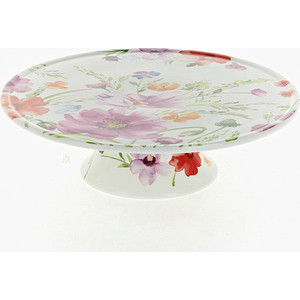 Блюдо для торта на ножке Best Home Porcelain Summer day (800156)