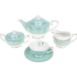 Чайный сервиз 15 предметов Best Home Porcelain Морская волна (1210060)