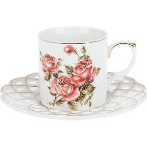 Кофейный набор 4 предмета Best Home Porcelain Рубиновые розы (1210111) best home porcelain салфетница рубиновые розы 4х8х13 см