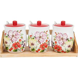 Набор банок для сыпучих продуктов 3 штуки Polystar Collection Summer (L2430917) polystar кружка романс 310 мл