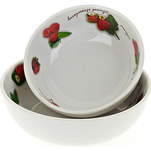 Набор салатников 2 штуки Polystar Collection Садовая ягода (L2520262) polystar тарелка этажерка садовая ягода 18х24 см