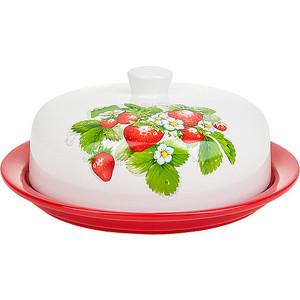 Фотография товара блюдо с крышкой для блинов Polystar Collection Клубника (L2520673) (795813)