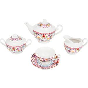 Чайный сервиз 15 предметов Nouvelle Разноцветные тюльпаны (M0661161)